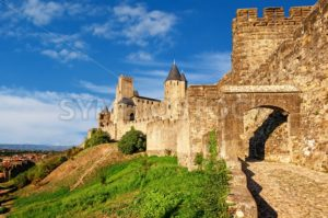 Cite de Carcassonne, Languedoc, France - GlobePhotos