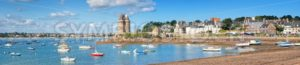 English Cnannel lagoon by St Malo, Brittany, France - GlobePhotos