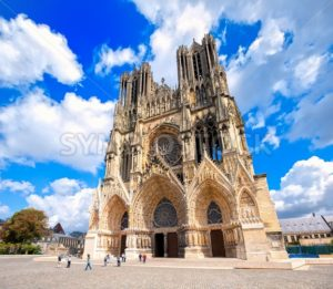 Notre Dame de Reims Cathedral, France - GlobePhotos