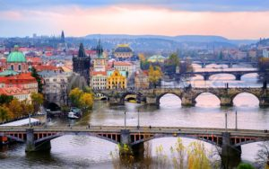 Old town and the bridges, Prague, Czech Republic - GlobePhotos
