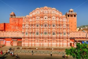 Palace of Winds, Hawa Mahal, Jaipur, India - GlobePhotos - royalty free stock images