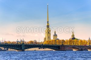 Peter and Paul Fortress, St Petersburg, Russia - GlobePhotos