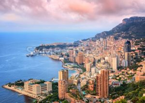 Principality of Monaco at sunrise - GlobePhotos