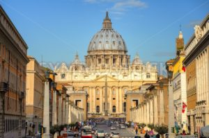 St. Peter's Basilica, Vatican, Rome, Italy - GlobePhotos - royalty free stock images