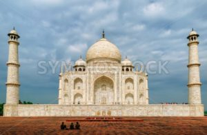 Taj Mahal, Agra, India - GlobePhotos - royalty free stock images
