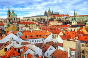 The Castle and old town of Prague, Czech Republic - GlobePhotos