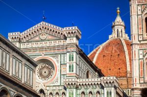 The Dome of the Florence Cathedral, Italy - GlobePhotos - royalty free stock images
