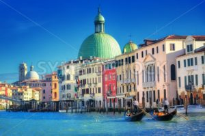 The Grand Canal, Venice, Italy - GlobePhotos