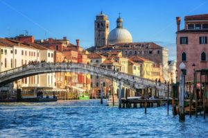 The Grand Canal in Venice, Italy - GlobePhotos