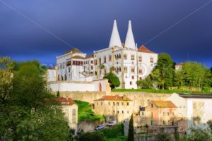 The National Palace, Sintra, Portugal - GlobePhotos