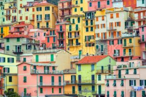 Traditional italian colorful houses, Cinque Terre, Italy - GlobePhotos - royalty free stock images