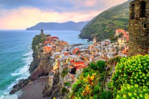 Vernazza in Cinque Terre, Liguria, Italy - GlobePhotos - royalty free stock images