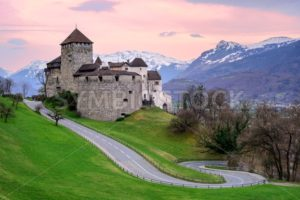 Vaduz Castle, the official residence of the Prince of Liechtenstein - GlobePhotos - royalty free stock images