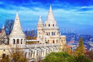 Fisherman's Bastion, Budapest, Hungary - GlobePhotos - royalty free stock images
