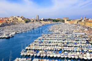 Old Port in the city center of Marseilles, France - GlobePhotos - royalty free stock images