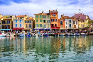 Port of Cassis old town, Provence, France - GlobePhotos - royalty free stock images
