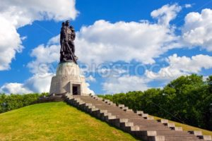 Soviet soldier monument at Treptow park, Berlin, Germany - GlobePhotos - royalty free stock images