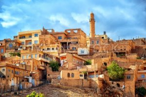 Traditional architecture in the old town of Mardin, Turkey - GlobePhotos - royalty free stock images