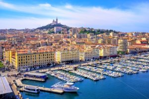 View of the historical old town of Marseilles, France - GlobePhotos - royalty free stock images