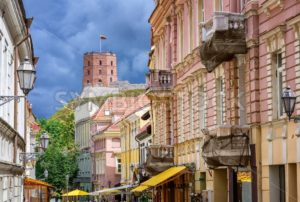 Vilnius Old Town, Lithuania, Eastern Europe - GlobePhotos - royalty free stock images