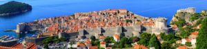 Panorama view of the old town of Dubrovnik, Croatia - GlobePhotos - royalty free stock images
