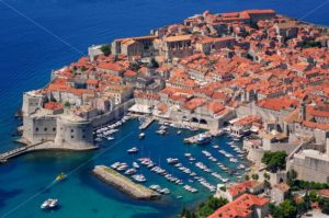 The historical old town of Dubrovnik, Croatia - GlobePhotos - royalty free stock images