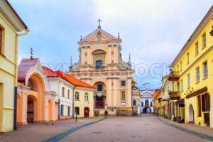 Old town of Vilnius, Lithuania - GlobePhotos - royalty free stock images