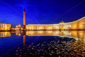 Palace Square, St Petersburg, Russia - GlobePhotos - royalty free stock images