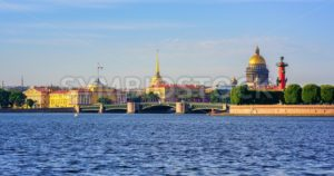Panorama of St Petersburg, Russia - GlobePhotos - royalty free stock images