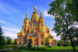 Russian orthodox church, St Petersburg, Russia - GlobePhotos - royalty free stock images