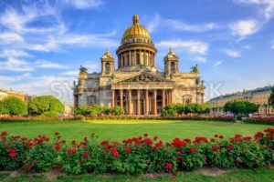 St Isaac cathedral, Saint Petersburg, Russia - GlobePhotos - royalty free stock images