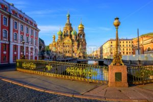 St Petersburg city center, Russia - GlobePhotos - royalty free stock images
