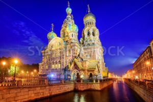 The Church of the Savior on Blood, St Petersburg, Russia - GlobePhotos - royalty free stock images