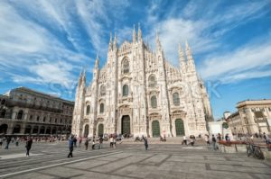 Milan Cathedral the Duomo, Italy - GlobePhotos - royalty free stock images