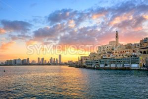 Old town of Jaffa and Tel Aviv city, Israel - GlobePhotos - royalty free stock images