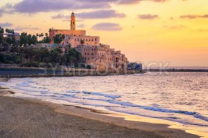 Old town of Yafo, Tel Aviv, Israel, on sunset - GlobePhotos - royalty free stock images