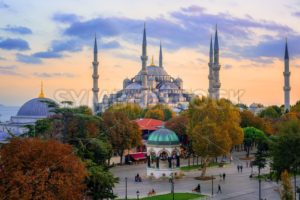 Blue Sultanahmet Mosque, Istanbul, Turkey - GlobePhotos - royalty free stock images