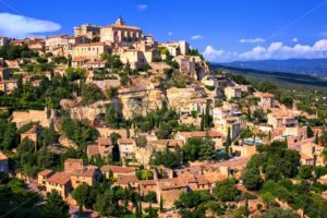 Gordes historical hilltop town, Provence, France - GlobePhotos - royalty free stock images
