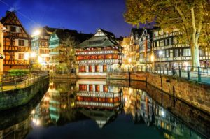 La Petite France, Strasbourg, Alsace, France - GlobePhotos - royalty free stock images