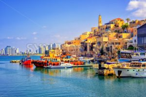 Old town and port of Jaffa, Tel Aviv city, Israel - GlobePhotos - royalty free stock images
