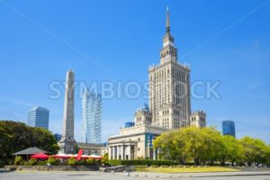Palace of Culture and Science, Warsaw, Poland - GlobePhotos - royalty free stock images