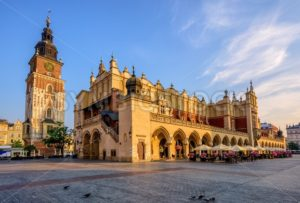 The Cloth Hall in Krakow Olt Town, Poland - GlobePhotos - royalty free stock images