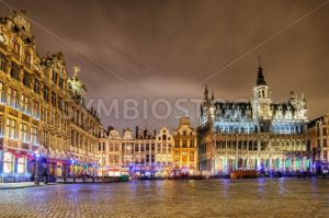 The Grand Place with Breadhouse, Brussels, Belgium - GlobePhotos - royalty free stock images