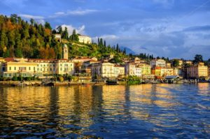 Bellagio resort town on Lake Como, Lombardy, Italy - GlobePhotos - royalty free stock images