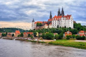 Meissen old town with castle and cathedral, Germany - GlobePhotos - royalty free stock images