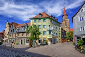 Old town of Furth, Bavaria, Germany - GlobePhotos - royalty free stock images