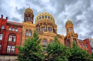 The New Synagogue in Berlin, Germany - GlobePhotos - royalty free stock images