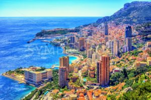 Monaco and Monte Carlo, Cote d'Azur, Europe - GlobePhotos - royalty free stock images