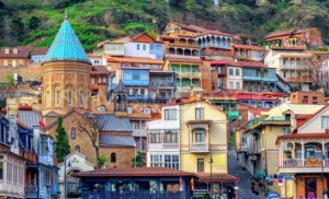 The Old Town of Tbilisi, Georgia - GlobePhotos - royalty free stock images