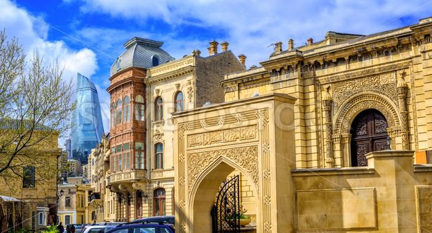 Baku Old Town, Azerbaijan - GlobePhotos - royalty free stock images